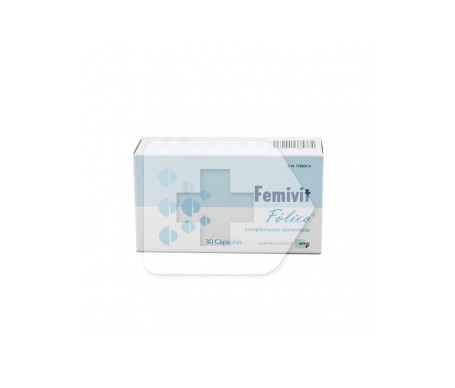 Femivit fólico 30cáps