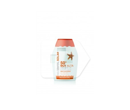Mussvital leche solaire solaire SPF50+ 50ml