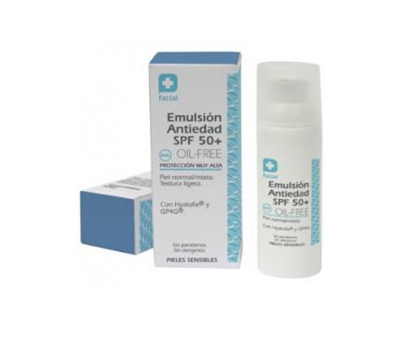 Parabotica emulsión antiedad SPF50+ oil free 50ml