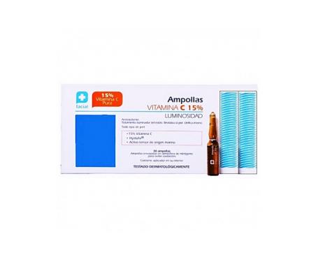 Parabotica Ampollas vitamina C 15% 30uds