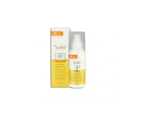 Solei Aceite Solar Seco Spray SPF30+ 125ml