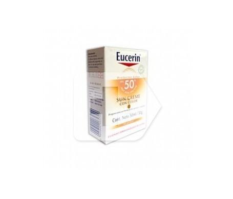 Eucerin® Sun crema facial coloreada SPF50+ 50ml