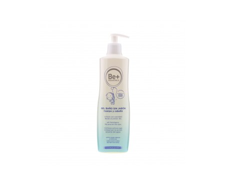 Be+ Pediatrics gel de baño sin jabón 500ml