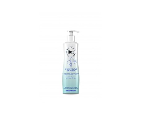 Be+ Pediatrics champú suave sin jabón 300ml