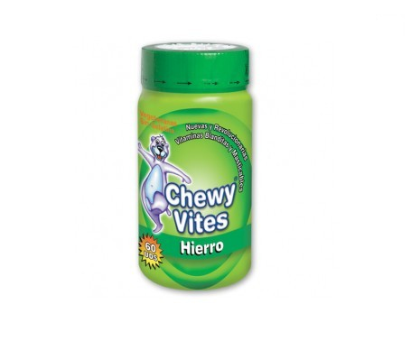 Chewy Vites Hierro 60 ositos