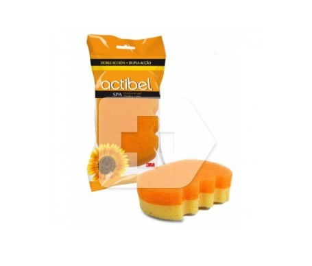 Actibel esponja doble acción spa 1ud