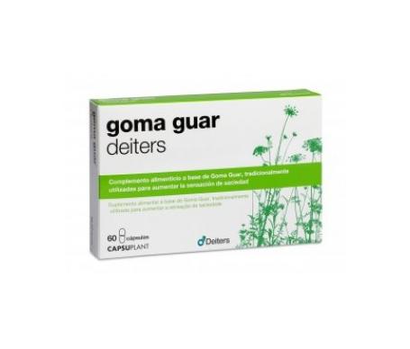 Deiters Goma Guar 400mg 60cáps