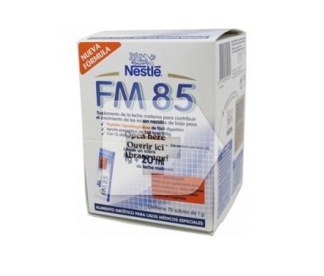 Nestlé fortificador de la leche materna FM85 70g