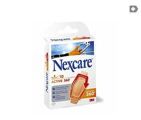 Nexcare® Active 360º apósitos estériles 19x76mm 10uds