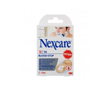 Nexcare® Blood Stop tiras adhesivas coagulantes surtido 14uds
