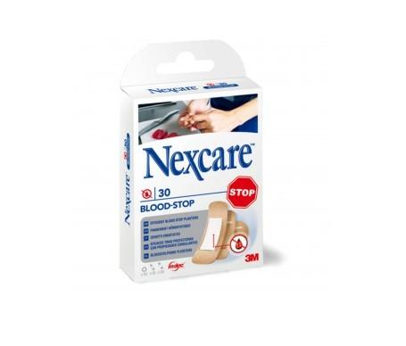 Nexcare® Blood Stop tiras adhesivas coagulantes surtido 30uds