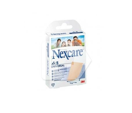 Nexcare® Universal tiras protectoras 10x6cm 5 tiras