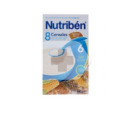 Nutribén® papilla 8 cereales galletas María 300g
