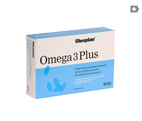 Deiters Omega 3 Plus 60cáps blandas