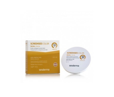 Sesderma Screenses crema con color SPF50+ tono brown 10g