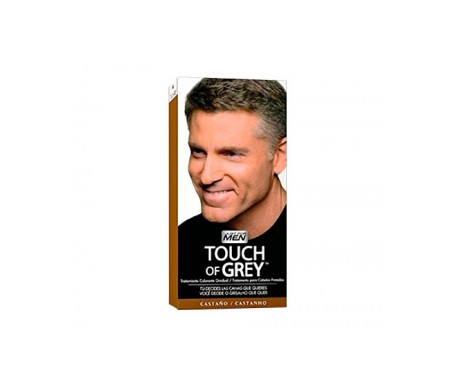 Just for Men Touch of Grey tratamiento colorante gradual castaño 40g