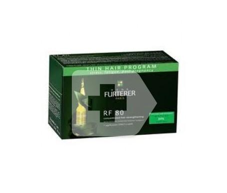 Rene Furterer RF 80 tratamiento anticaída 24 ampollas