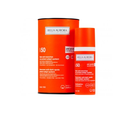 Bella Aurora fluido solar antimanchas SPF50+ 50ml