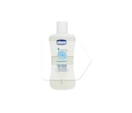 Chicco® Baby Moments gel delicado cuerpo y cabello 200ml
