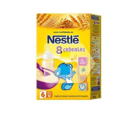 Nestlé papilla 8 cereales 800g