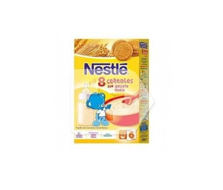Nestlé papilla 8 cereales galleta maría 800g