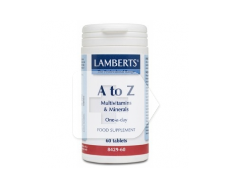 LAMBERTS® A to Z Multi 60tabletas