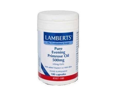 Lamberts aceite de prímula 500mg 180cáps