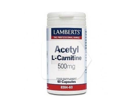 Lamberts Acetyl L-Carnitine 500mg 60cáps