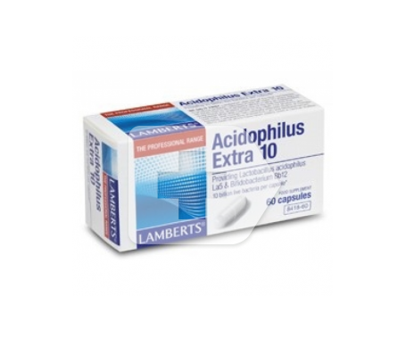 LAMBERTS® Acidophilus Extra 10 60cáps