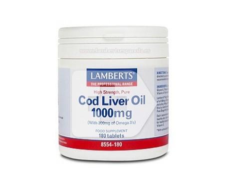 Lamberts Aceite de hígado de bacalao 180cáps