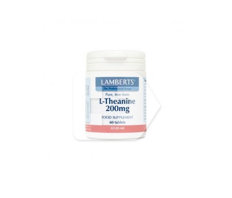 Lamberts L-Teanina 200mg 60 tabletas