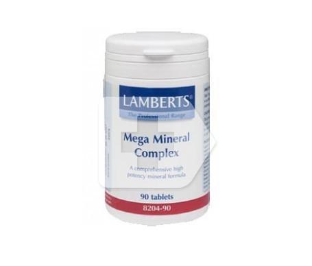 Lamberts Mega Mineral Complex 90 tabletas