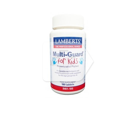 Lamberts Multi-guard For Kids 100 tabletas