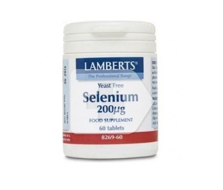 Lamberts Selenium 200mcg 60 Tabletas