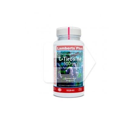 Lamberts Tirosina L 500 Mg