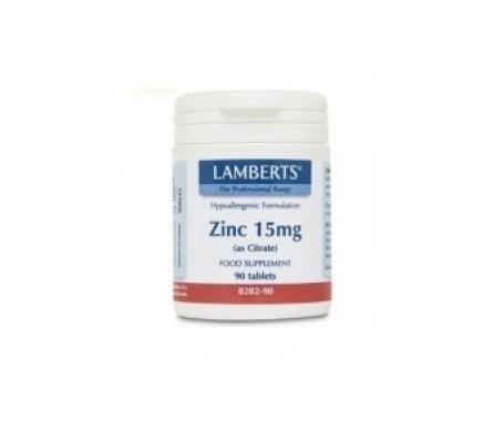 Lamberts Zinc Aminoquelado 120 tabletas