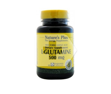Nature's Plus L-glutamina 500 Mg 60 Capsulas