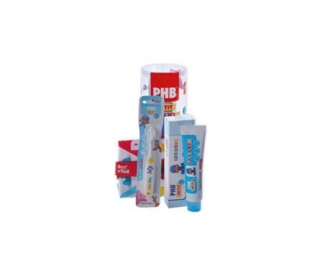 PHB Pack Petit gel dentífrico infantil + cepillo + REGALO