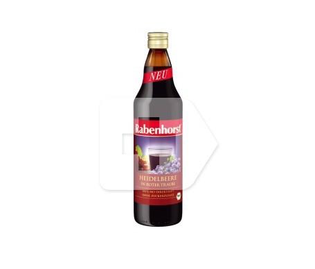 Rabenhorst zumo arándano azul en uva roja 750ml