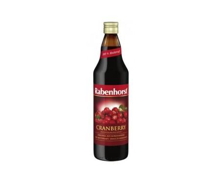 Rabenhorst zumo de arándano rojo 750ml