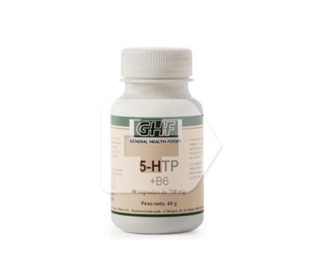 GHF 5-HTP y B6 750mg 60cáps