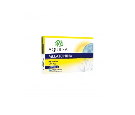 Aquilea Melatonina 1,95mg 30comp