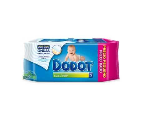 Dodot Dermo toallitas recambio 72uds