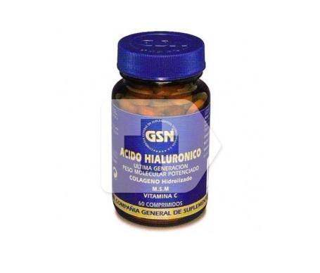 GSN Ácido Hialurónico 60mgx60comps