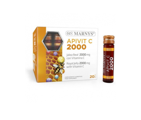 Marnys® Apivit C Plus 2000mg 20 ampollas