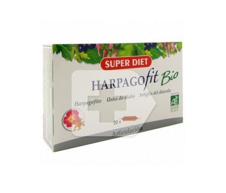 Superdiet harpagofit bio 20 ampollas