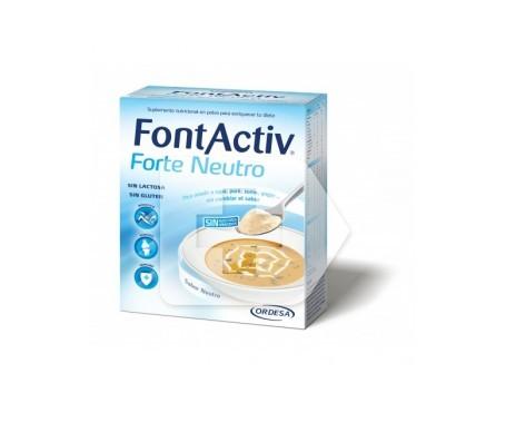 FontActiv Forte Neutro 30g 10 sobres
