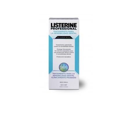 Listerine® Profesional tratamiento sensibilidad dental 500ml