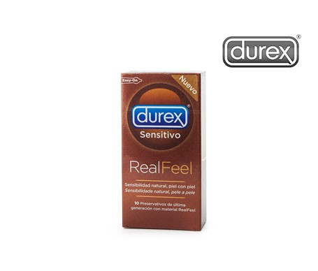 Durex® Sensitivo Real Feel preservativos 10uds