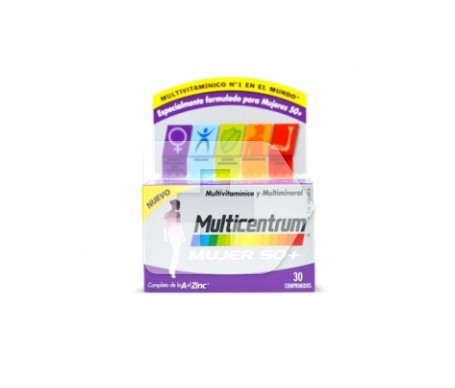 Multicentrum™ Women 50+ 30 tabs.